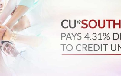 CU*SOUTH CUSO Pays 4.31% Dividend to Credit Unions